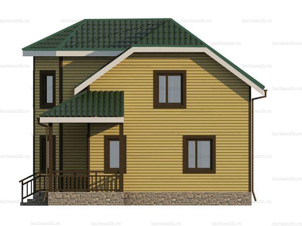 Каркасный дом с пятью спальнями 9 на 8 фото 3