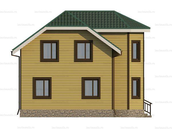 Каркасный дом с пятью спальнями 9 на 8 фото 5