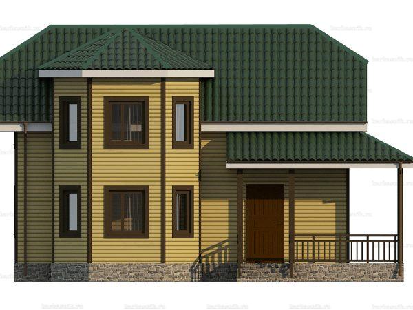 Каркасный дом с пятью спальнями 9 на 8 фото 6
