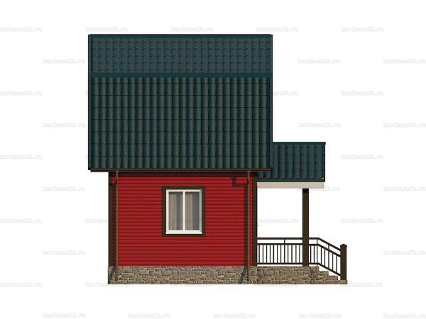 Каркасно-щитовой дом 5х4 фото 3