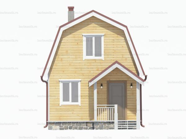 Проект дачного домика 5х4 для проживания