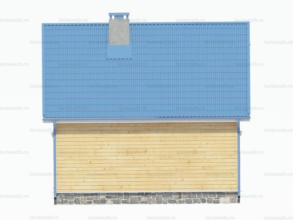 Дом из бруса 7х6 фото 4