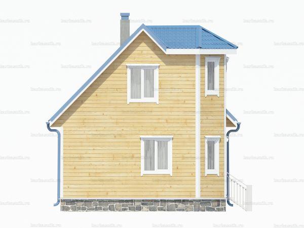 Дом из бруса 7х6 фото 5