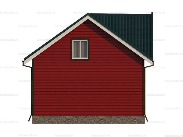 Каркасный коттедж с двумя спальнями 7 на 6 фото 5