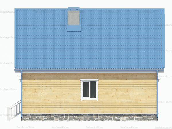 Дом с террасой 9х7.5 фото 3