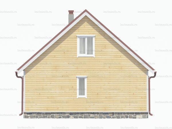 Дом для постоянного проживания 8х7.5 фото 4