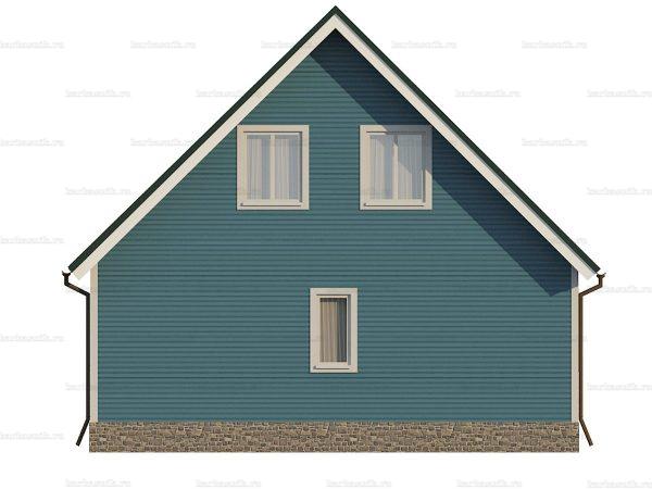 Дом под ключ с четыремя спальнями 8х7.5 фото 5