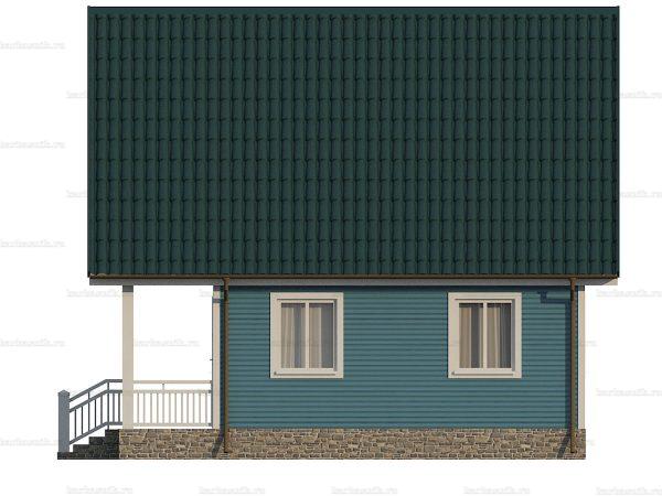 Дом под ключ с четыремя спальнями 8х7.5 фото 4