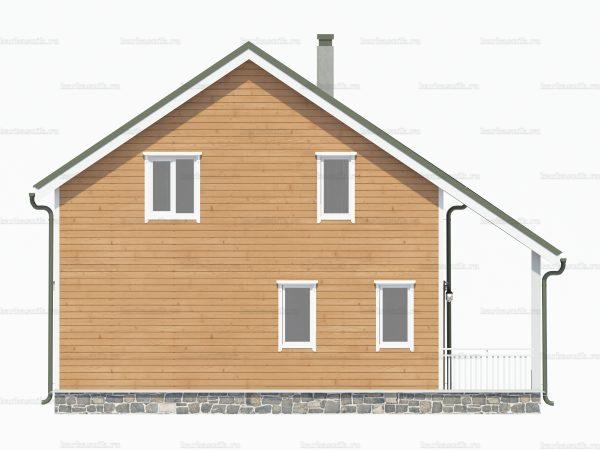 Каркасный дом с котельной 10х8 фото 4