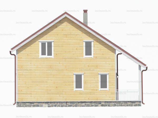 Дом из бруса 10х8 фото 4