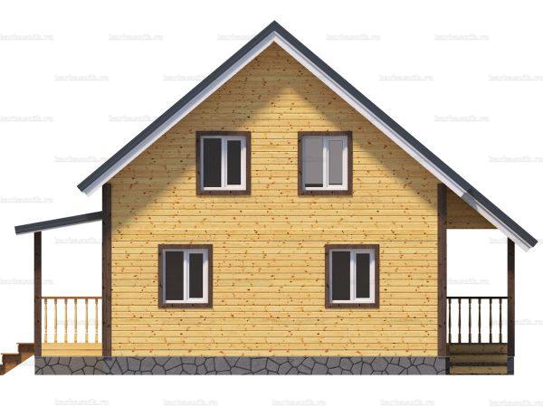 Зимний дом 8х7.5 фото 3