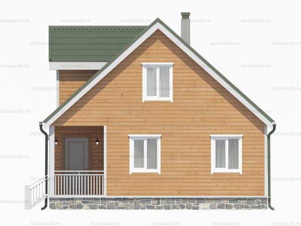 Дом для зимнего проживания 8х8 фото 3