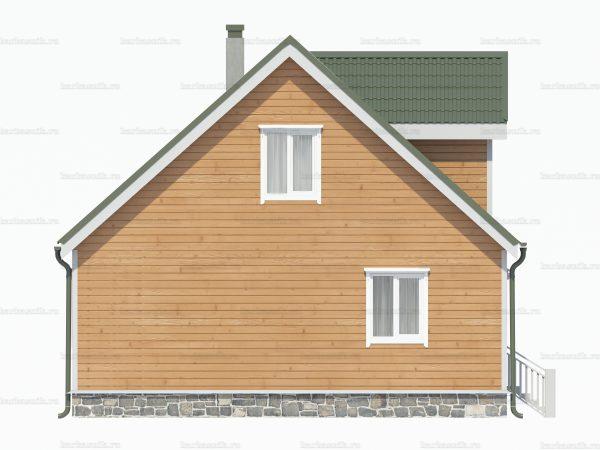 Дом для зимнего проживания 8х8 фото 5