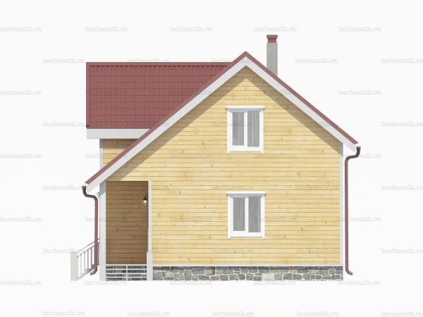 Дом  из бруса 10.5х7.5 фото 3
