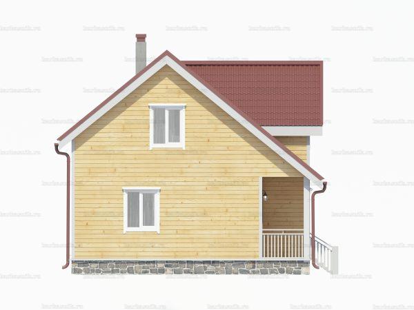 Дом  из бруса 10.5х7.5 фото 5