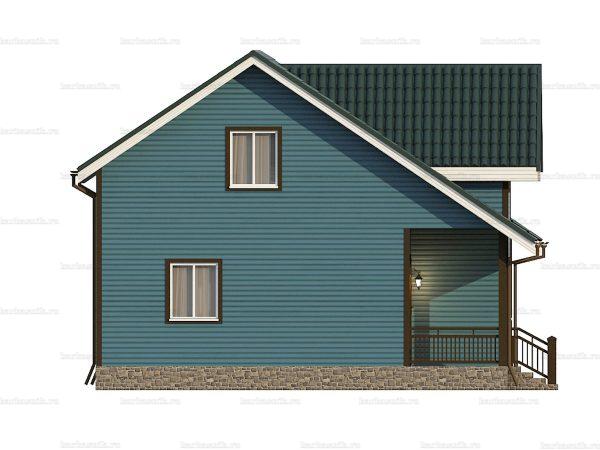 Щитовой дом с туалетом 10.5х7.5 фото 6