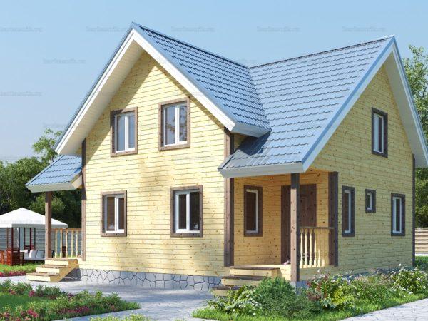 Дом с расценками 10х8