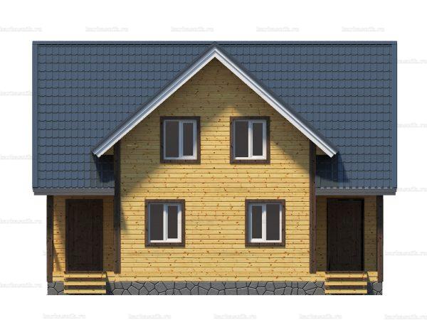 Дом с расценками 10х8 фото 6