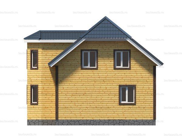 Проект каркасного зимнего дома 10х10 для строительства под ключ