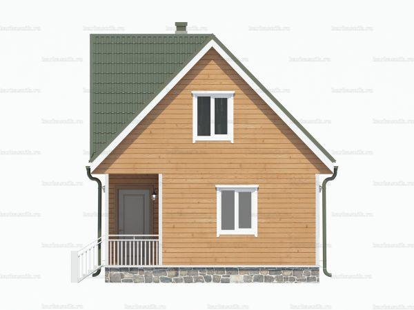 Строительство дачного дома 8х6 фото 3