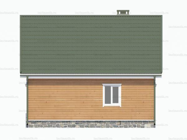 Строительство дачного дома 8х6 фото 4