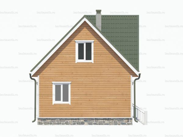 Строительство дачного дома 8х6 фото 5