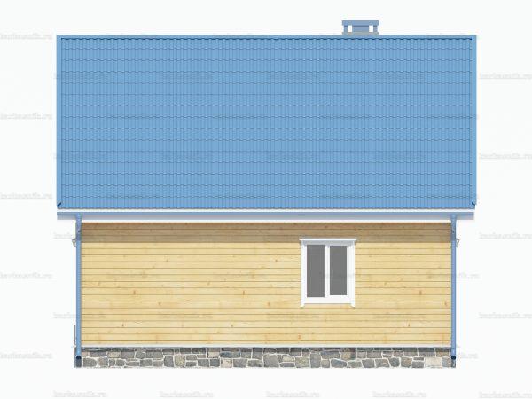 Жилой дом 8х6 фото 4