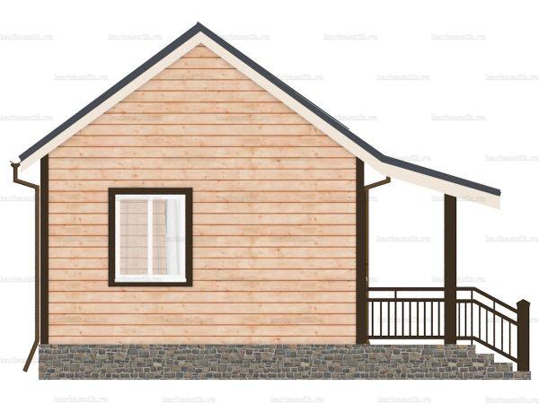 Одноэтажный дом 6х4.5 фото 3