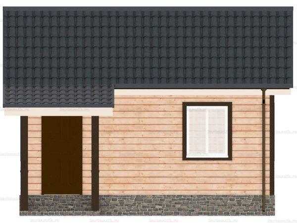 Одноэтажный дом 6х4.5 фото 6