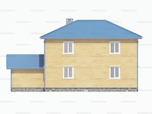 Дом со вторым этажом 10х9 фото 3