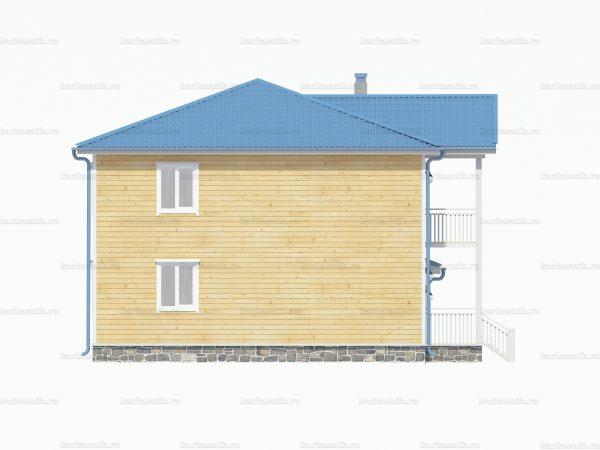 Дом со вторым этажом 10х9 фото 4