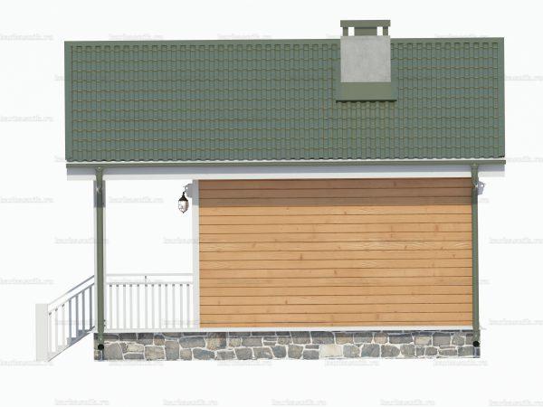 Дом с одной спальней 6х6 фото 3
