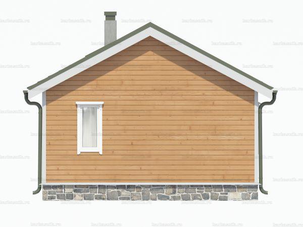 Дом с одной спальней 6х6 фото 4