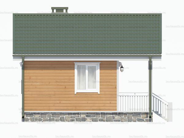 Дом с одной спальней 6х6 фото 5