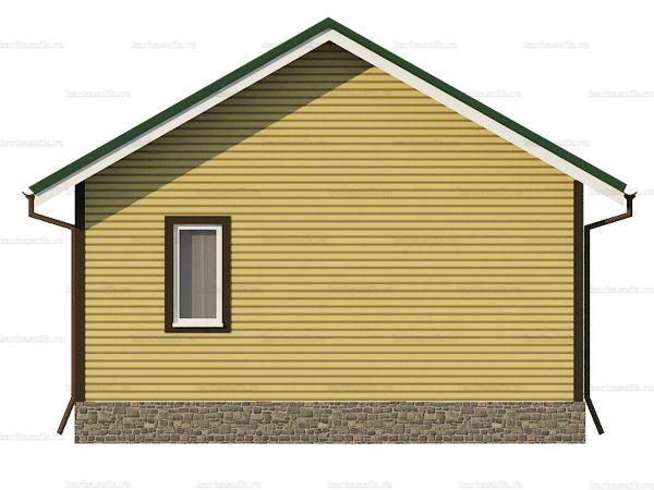 Дачный дом для проживания зимой 6х6 фото 5