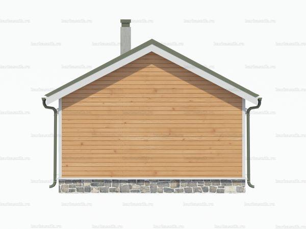 Дом с туалетом 7.5х6 фото 3