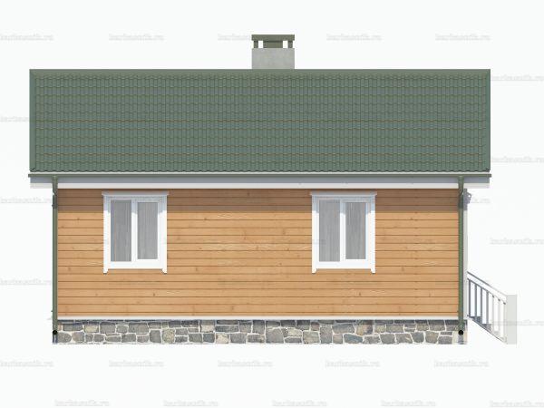 Дом с туалетом 7.5х6 фото 4