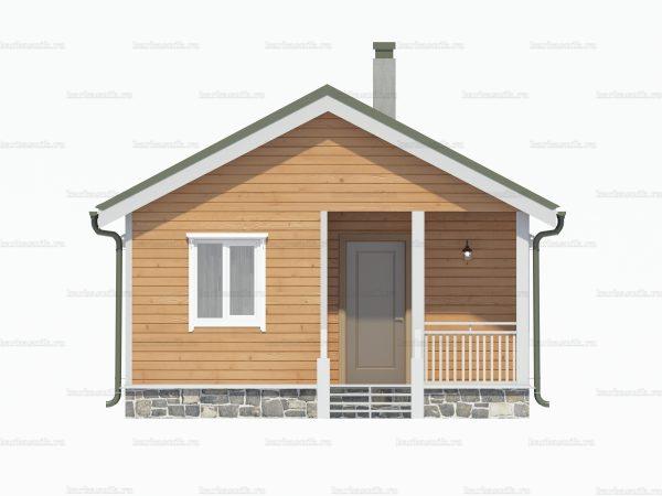 Дом с туалетом 7.5х6 фото 5
