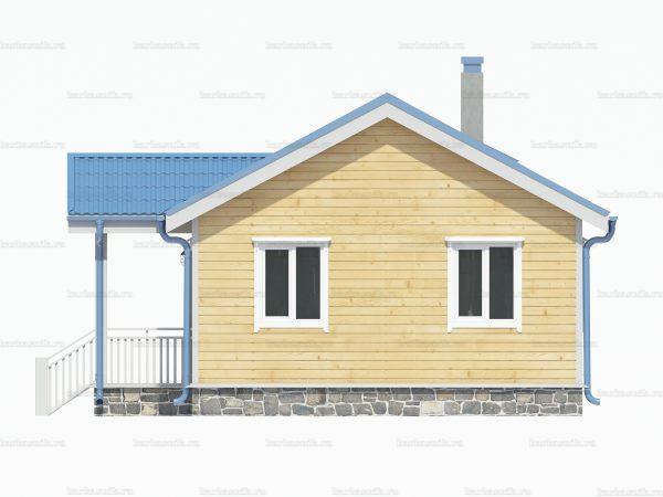 Утепленный дом 8х6 фото 3