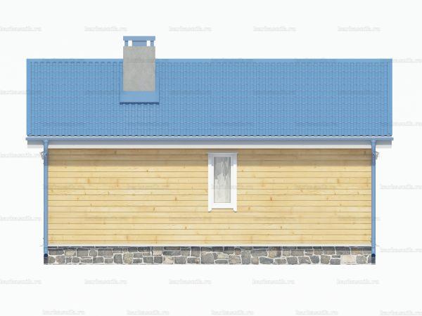 Утепленный дом 8х6 фото 4