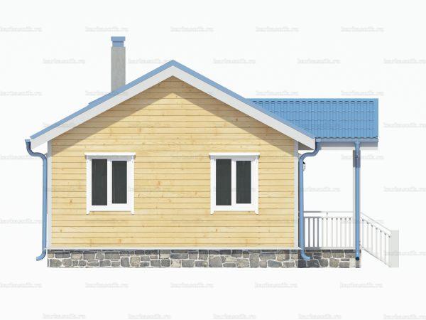 Утепленный дом 8х6 фото 5