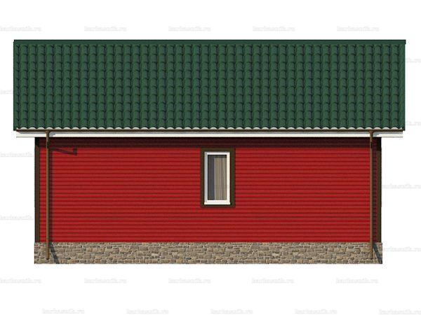 Каркасный дом один этаж 8х6 фото 6