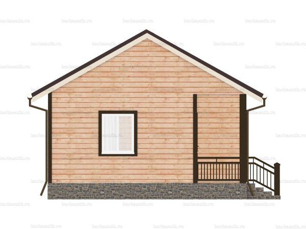 Дом с прайсом 9х6 фото 3