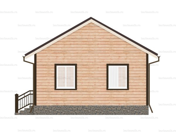 Дом с прайсом 9х6 фото 4
