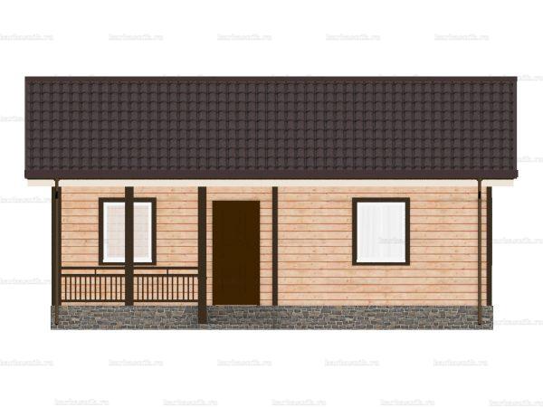 Дом с прайсом 9х6 фото 6