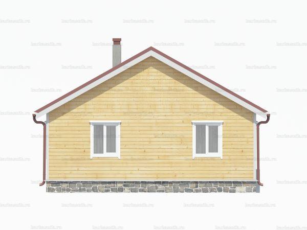 Дом из бруса естественной влажности 9х8 фото 5