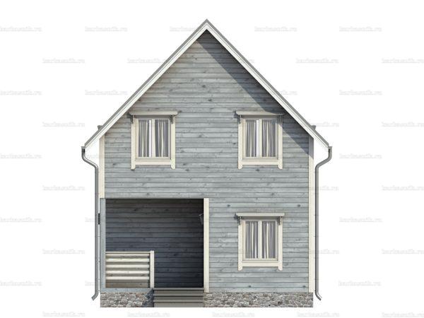Щитовой дом для проживания 7х6 фото 4