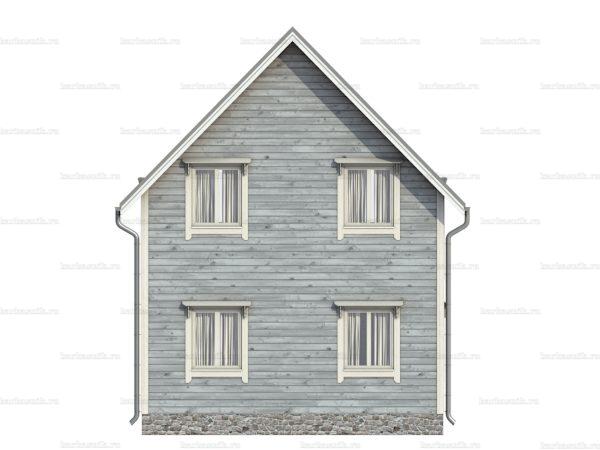 Щитовой дом для проживания 7х6 фото 6