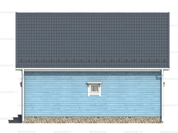 Щитовой дом с котельной 9х6 фото 3