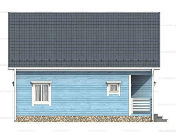Щитовой дом с котельной 9х6 фото 5